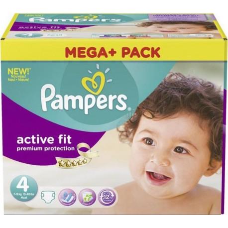 Mega pack 164 Couches Active Fit Premium Protection taille 4 sur 123 Couches