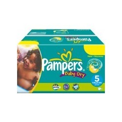 Giga pack 216 Couches Pampers Baby Dry sur 123 Couches