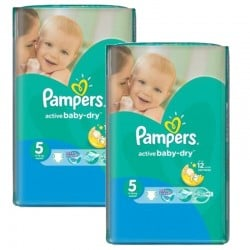 Maxi mega pack 464 Couches Pampers Active Baby Dry
