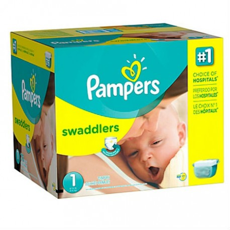Pack 280 Couches Pampers New Baby taille 1 sur 123 Couches