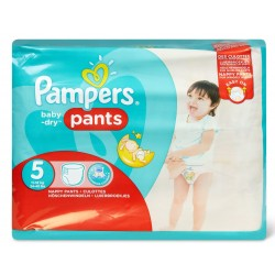 Pack 96 Couches Pampers Baby Dry Pants taille 5 sur 123 Couches