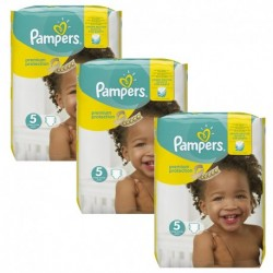 Pack 90 Couches Pampers New Baby Premium Protection taille 5 sur 123 Couches