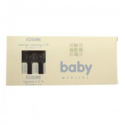 20 Dosettes d'eosine Bodysol 2% Baby Medical sur 123 Couches